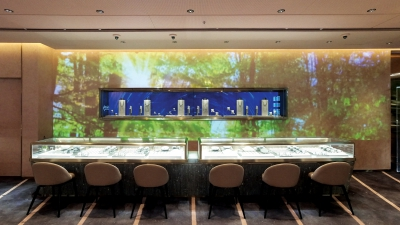 Wall Projection and LED Display @ K11 Musea Experienced Store